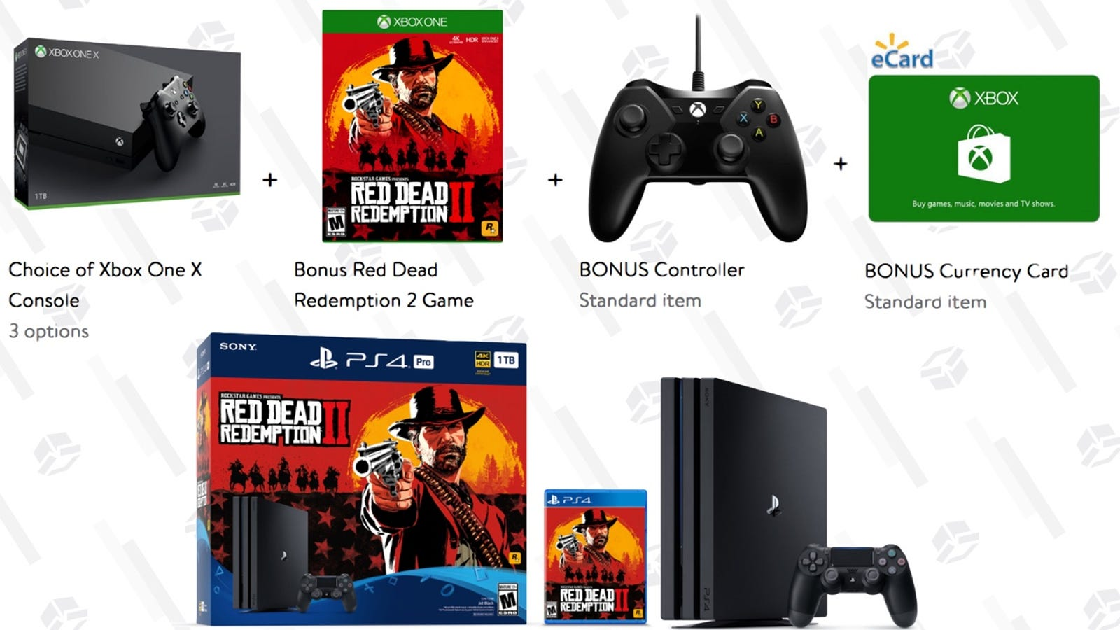 Buy a New Console, Get Red Dead Redemption 2 (and Possibly