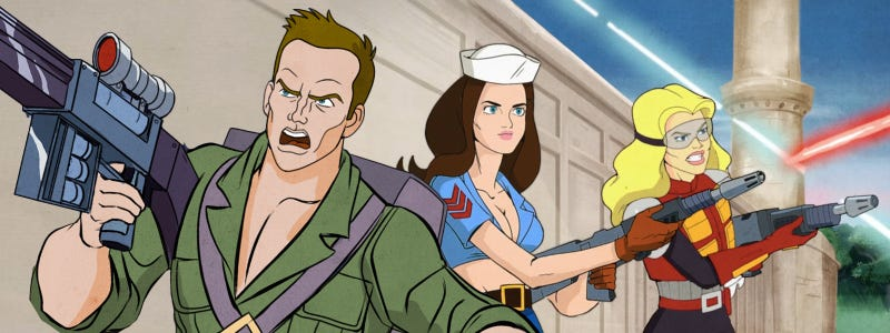 Illustration for article titled Watch The G.I. Joe Community Episode Right Here