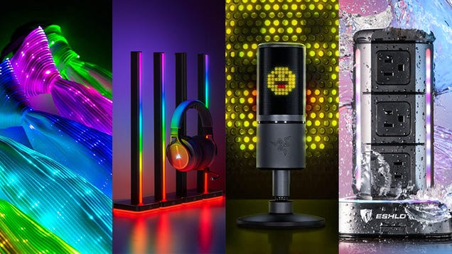 These Are the Most Ridiculous RGB Gadgets You Can Buy