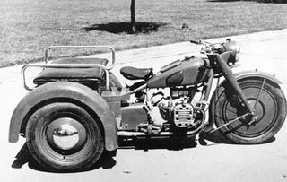 Illustration for article titled 1939 Delco motorcycle