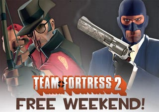 Illustration for article titled Team Fortress 2 Goes Free This Weekend