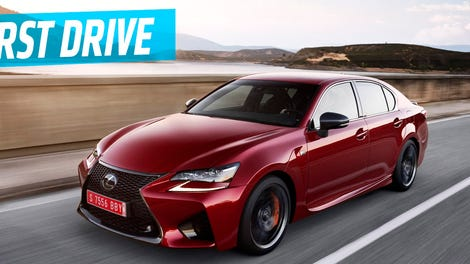 The lexus gs might soon be dead but will anyone miss it the 2016 lexus gs f is one 467 hp step closer to a legit bmw slayer freerunsca Choice Image