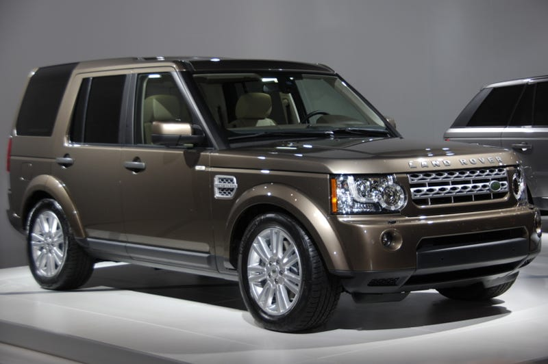 2010 Land Rover LR4 Updated With Jaguar V8