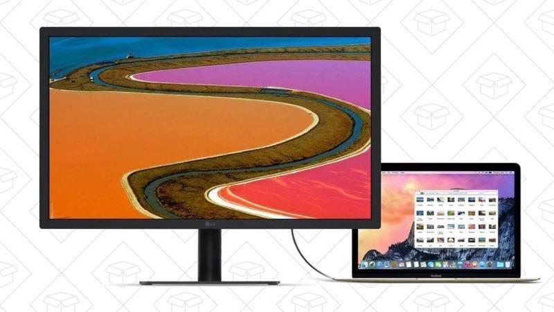 Monitor LG 22'' Ultra Fine 4K de segunda mano | $200 | AmazonGráfico: Shep McAllister