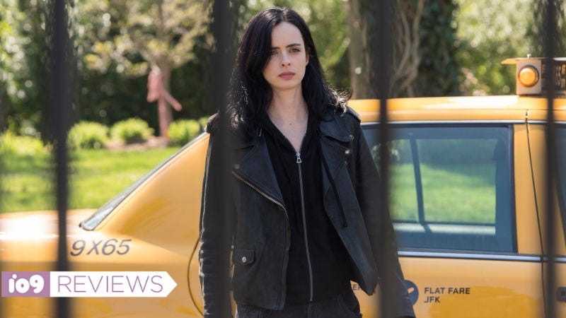 Krysten Ritter's curmudgeon hero Jessica Jones returns for a second season.