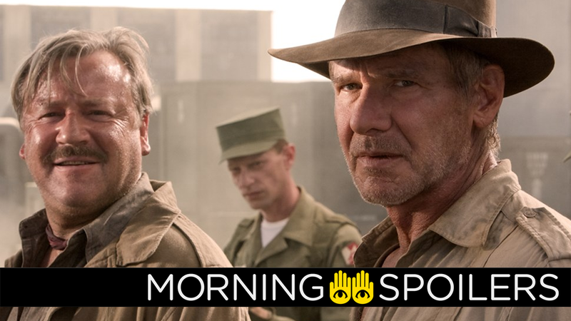Nazi gold may no longer be on the cards for Indiana Jones.