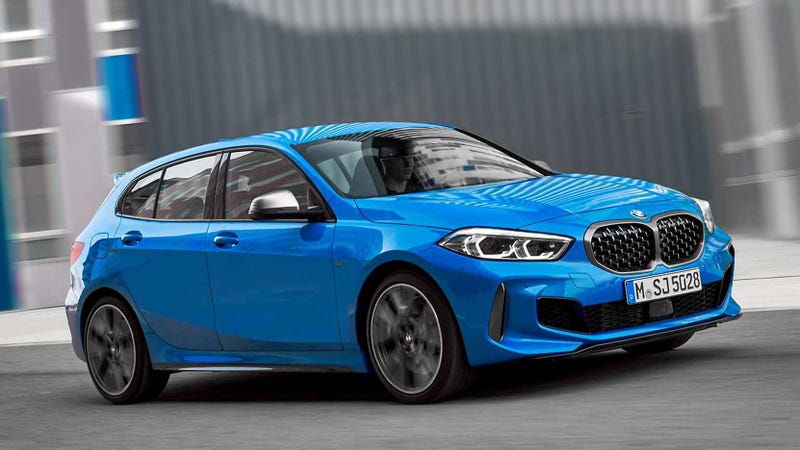 Illustration for article titled Here Is The Mostly Front-Wheel Drive 2020 BMW 1 Series Someone (?) Asked For