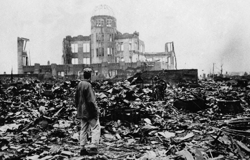 Illustration for article titled Una mandíbula revela por primera vez la descomunal cantidad de radiación que absorbieron las víctimas de la bomba de Hiroshima