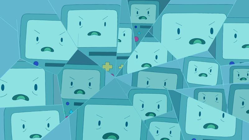 Illustration for article titled Adventure Time turns BMO's identity crisis into a tense psychological thriller