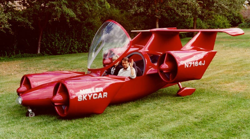 """Illustration for article titled 17 Better Ways to Waste Your Money Than On This Crowdfunded """"Flying Car"""""""