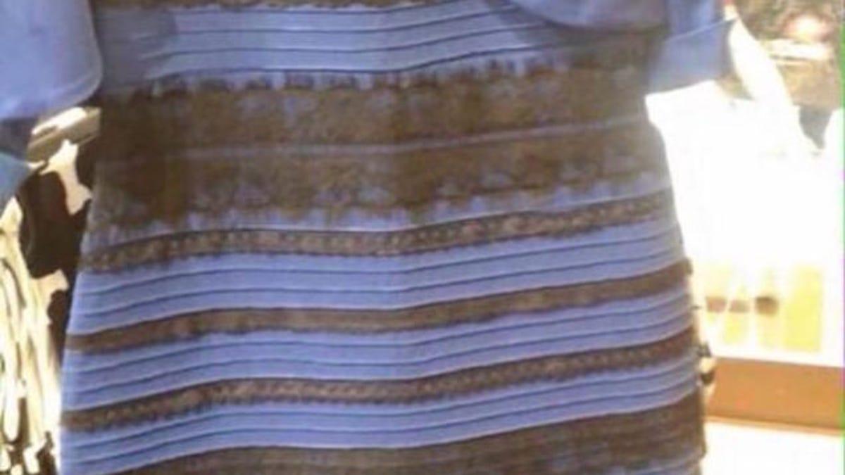 Que significa ver el vestido azul y negro