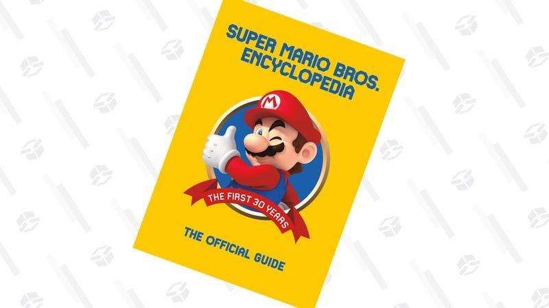 Preorder Super Mario Encyclopedia | $24 | Amazon | Clip the $1.56 coupon