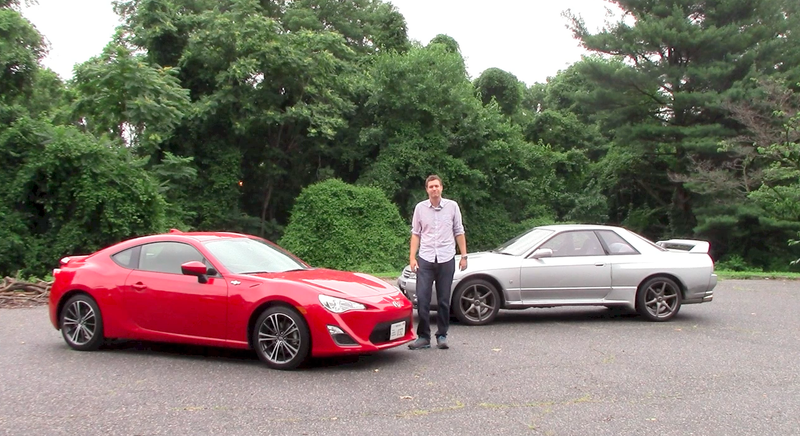 Illustration for article titled 1990 Nissan Skyline GT-R vs. 2015 Scion FR-S: Which Is Better?