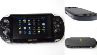 it looks like the ps vita but it has an xbox name and an android logo