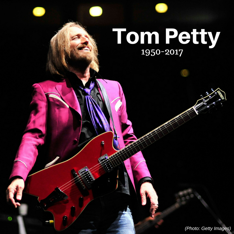 Illustration for article titled Rock icon Tom Petty passes away