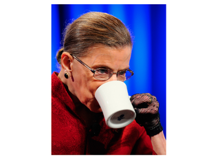 Illustration for article titled A Supreme Flex: Ruth Bader Ginsburg Is Already Working From Home After Leaving Hospital
