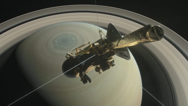 Shadows From Saturn s Rings Affect the Planet s Weather
