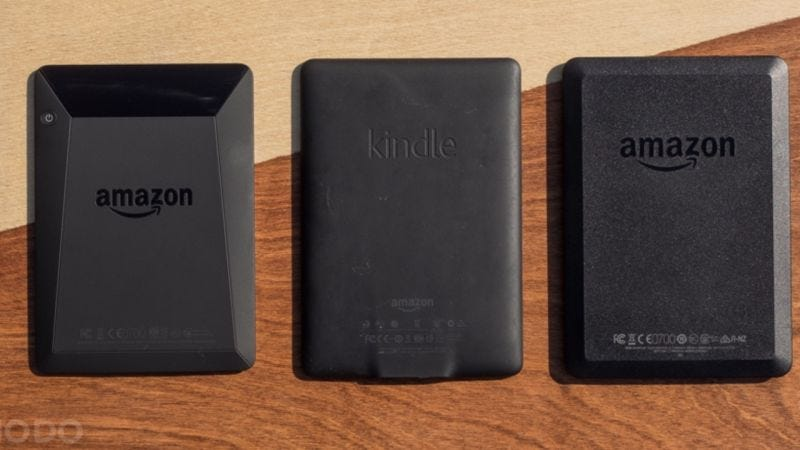 Kindle, $50 | Kindle Paperwhite, $90 | Kindle Voyage, $150