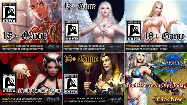 Adult video game ao