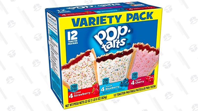 Pop-Tarts Breakfast Toaster Pastries, Flavored Variety Pack | $3 | Amazon | After 25% off coupon, Prime members only