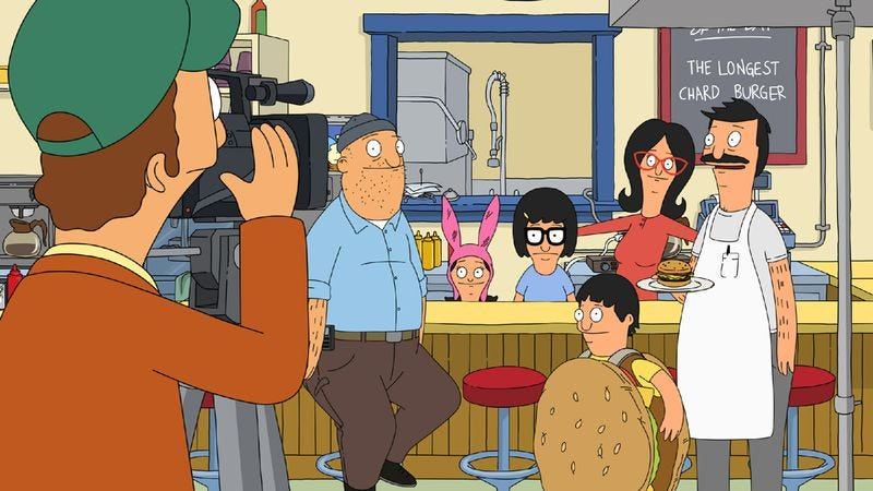 "Illustration for article titled Bob's Burgers: ""Easy Com-mercial, Easy Go-mmercial"""
