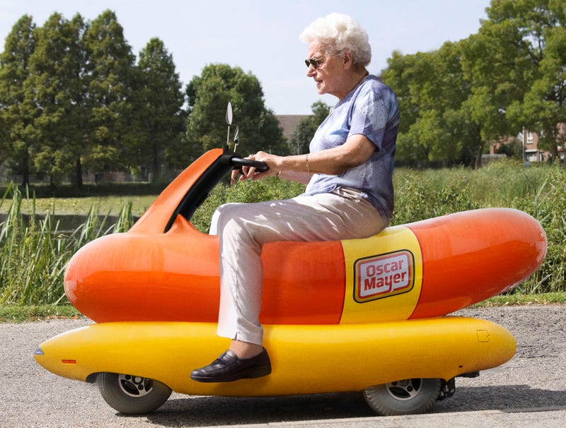 Illustration for article titled Oscar Meyer Introduces New Wiener Mobility Scooter