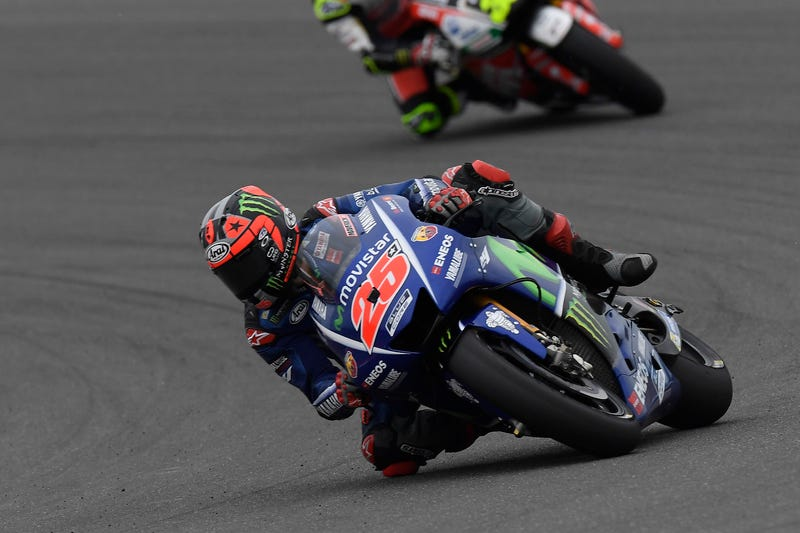 Maverick Viñales  feels the need, the need for speed. (Photo credit: Yamaha)