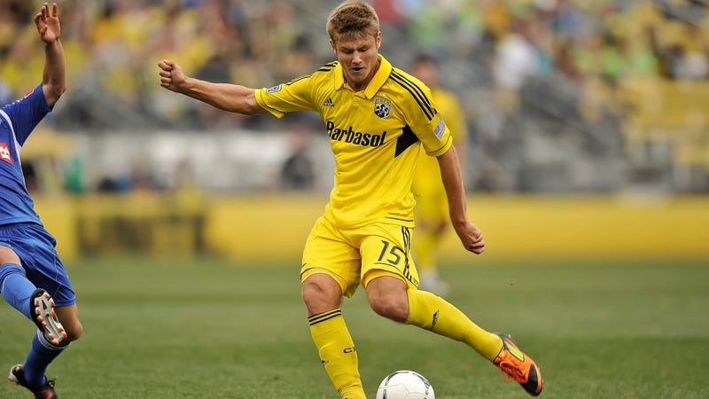 Illustration for article titled Columbus Crew Midfielder Kirk Urso Is Dead At 22