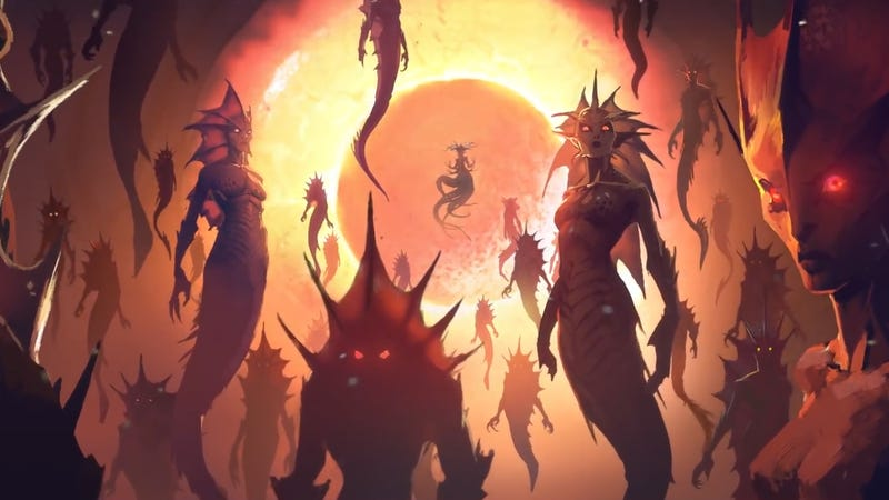 Illustration for article titled World Of Warcraft's 'Rise of Azshara' Update Will Take Us To The Land Of The Naga
