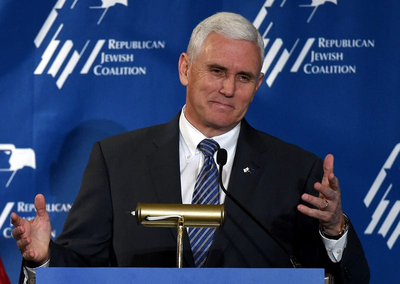 Indiana Gov. Mike Pence Ethan Miller/Getty Images