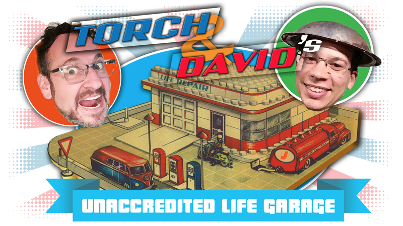 Illustration for article titled Looking for Car Repair and Life Advice? Welcome to Torch and David's Unaccredited Life Garage