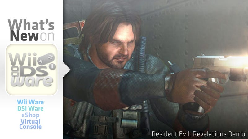 Illustration for article titled And a Resident Evil: Revelations Demo Shall Lead the Nintendo Download