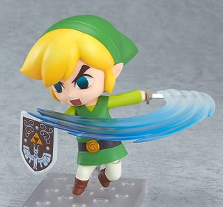 Illustration for article titled Perfect New Wind Waker Link Figure