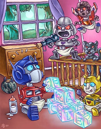 Illustration for article titled Transformers On Wii Warrants A Name Change, Apparently