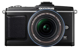 Illustration for article titled Olympus E-P2: Flashier than the E-P1, But Still No Flash