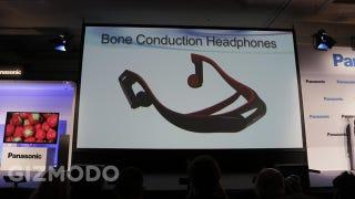Illustration for article titled Panasonic's New Bone Conducting Headphones: WTH?
