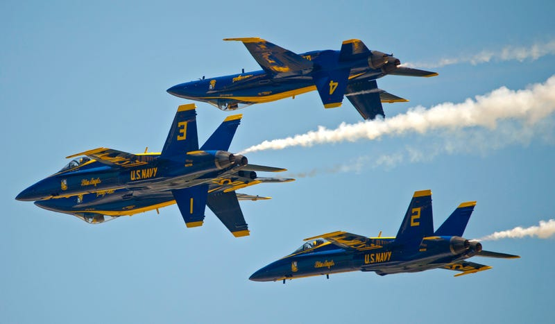 Illustration for article titled Stupid Government Budget Issues Ground The Blue Angels For All Of 2013