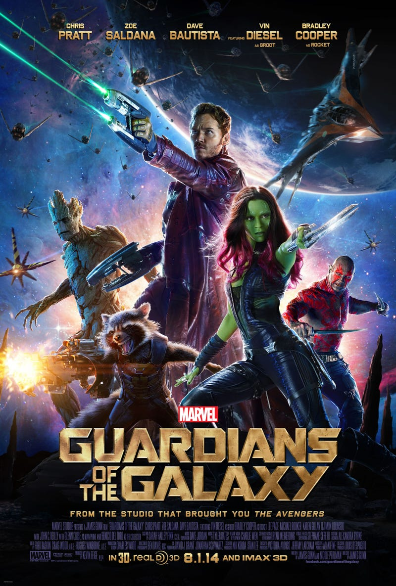 Illustration for article titled New Guardians of the Galaxy Poster has all the pew-pew