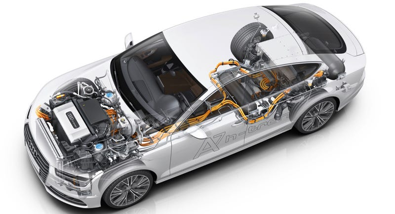Illustration for article titled Audi Just Made The Best-Looking Hydrogen-Powered Car In The Universe