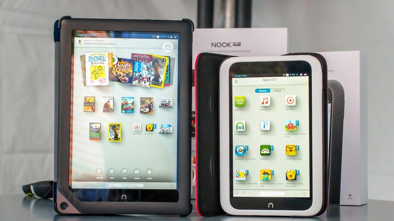 Illustration for article titled Nooks Just Turned Into Real Android Tablets