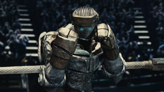 Illustration for article titled Syfy launches a giant boxing robot show that wants to be a real-life Real Steel