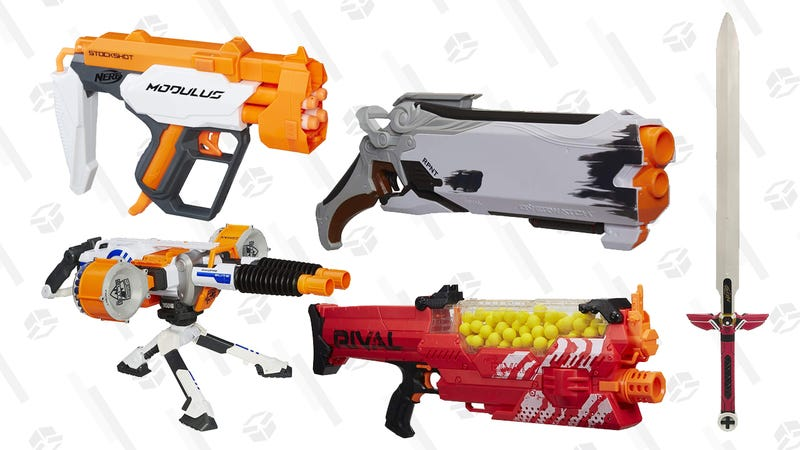 Nerf Gold Box | Amazon