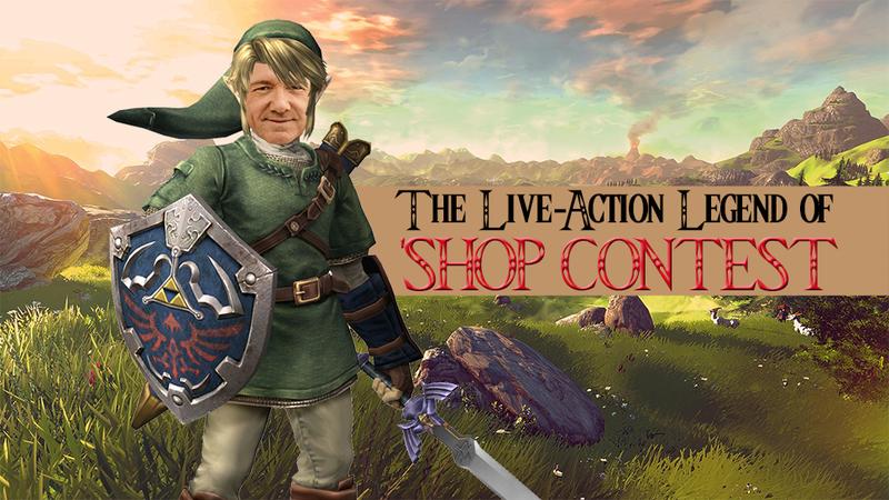 Illustration for article titled Kotaku 'Shop Contest: A Live-Action Legend Of Zelda