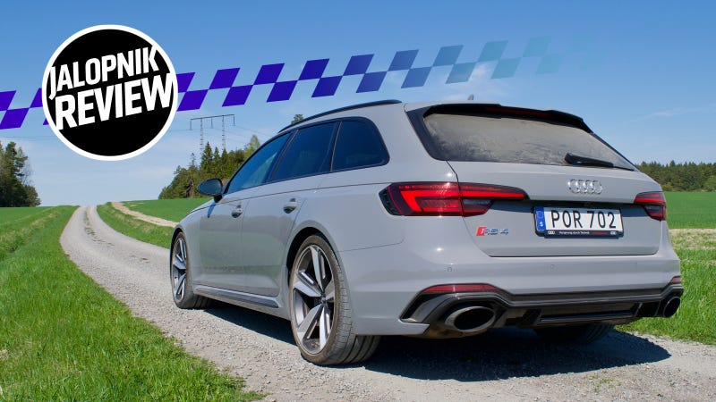 The 2018 Audi RS4 Avant Is The Clean Cut Performance Wagon Of Your ...