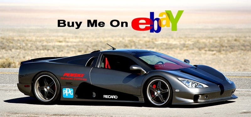 Illustration for article titled World's Fastest Production Car On Ebay, Priced At A Mere $640,100!