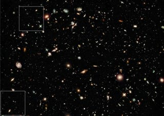 Illustration for article titled The Hubble Telescope Reveals The Oldest Galaxies Ever Seen