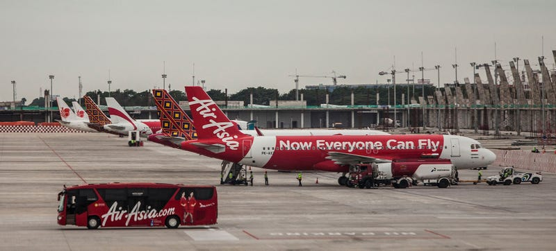 An AirAsia plane pictured in 2014. Photo Credit: Getty Images