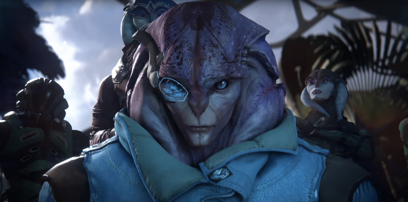 Illustration for article titled Latest Mass Effect: Andromeda Trailer Gives Best Look Yet at New Aliens, Enemies