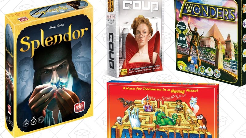 Board Game Gold Box