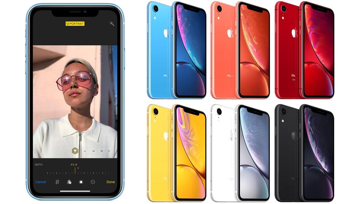 Resultado de imagen para new iphone xr colors